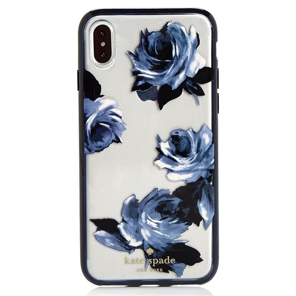 the latest 47a6a 76713 VGUC kate spade night rose iPhone Case